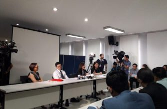 The Department of Justice on Tuesday, May 15, started the preliminary investigation into the cases filed against former President Benigno Aquino III and others in connection with the Dengvaxia mess./Moira Encina/Eagle News Service/