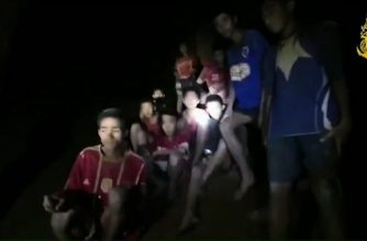 (File photo_ This handout video grab taken from footage released by The Royal Thai Navy late July 2, 2018, shows missing children inside the Tham Luang cave of Khun Nam Nang Non Forest Park in the Mae Sai district of Chiang Rai province. / AFP Photo / Royal Thai Navy / HO