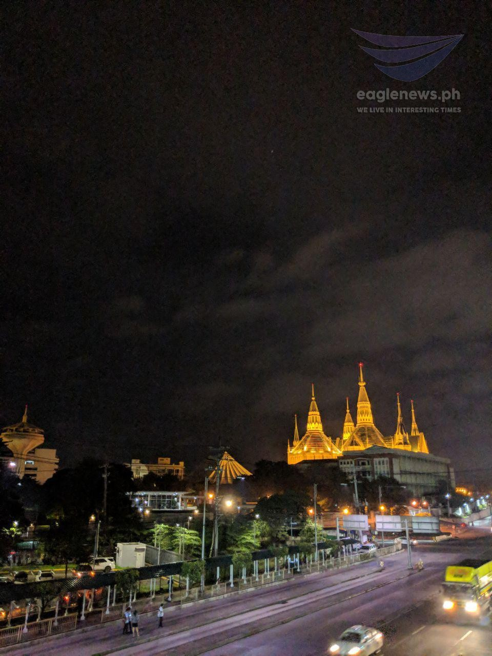 In Photos The Iglesia Ni Cristo Central Temple Like A Brilliant Jewel In The Night Sky