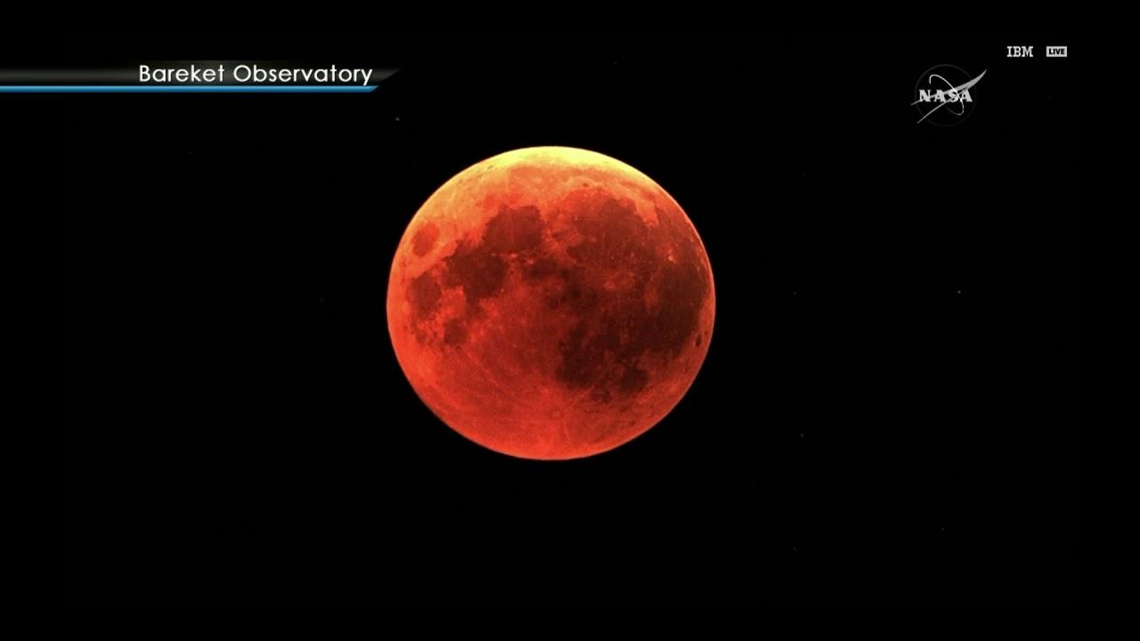 "LOOK: ""Blood moon"" as seen from NASA's telescopes"