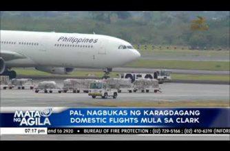 PAL, nagbukas ng karagdagang domestic flights mula sa Clark