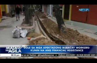DOLE sa mga apektadong Boracay workers: Kunin na ang financial assistance