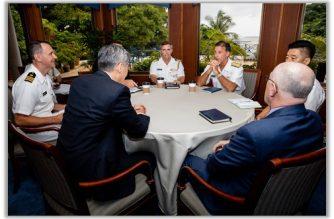 U.S. Pacific Fleet commander visits the Philippines