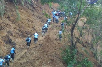 News in Photos: Search and retrieval operations for the victims of the landslide in Itogon, Benguet continue