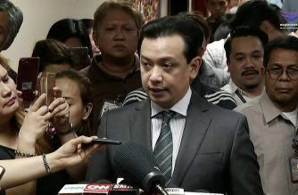 File photo of Senator Antonio Trillanes IV