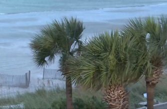 WATCH: Heavy winds batter Myrtle Beach as Hurricane Florence approaches