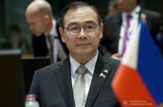 (File photo) Foreign Affairs Secretary and concurrent Representative to the United Nations Teodoro Locsin Jr. represents President Rodrigo Roa Duterte at the 12th Asia-Europe Meeting (ASEM) Summit and EU-ASEAN Leaders' Meeting in Brussels, Belgium on October 18 Central European Summer Time. ASEM, a platform for dialogue and cooperation between Asia and Europe, is expected to reinforce its role as a catalyst for effective alliance of countries pursuing common goals as well as to bring out the pillars of partnership including peace and security, trade and investment, sustainable development, and people-to-people ties. PRESIDENTIAL PHOTOS