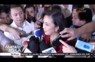 "Palace: Robredo ""missteps"" made Duterte change his mind about making her a part of the Cabinet"
