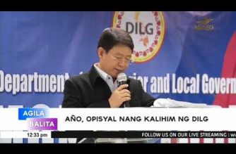 Año sworn in as DILG chief
