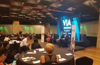 Participants at the VIA Startup Summit held at Makati City on November 28, 2018. Photo courtesy of Emily Manuel.