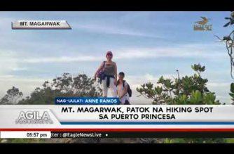 Mt. Magarwak, patok na hiking spot sa Puerto Princesa