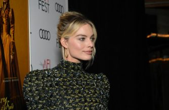 "HOLLYWOOD, CALIFORNIA - NOVEMBER 15: Margot Robbie attends the closing night world premiere gala screening of ""Mary Queen Of Scots"" during AFI FEST 2018 presented by Audi at TCL Chinese Theatre on November 15, 2018 in Hollywood, California.   Emma McIntyre/Getty Images for AFI/AFP"