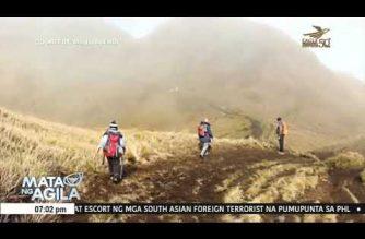 Akiki trail, pansamantalang isinara dahil sa forest fire