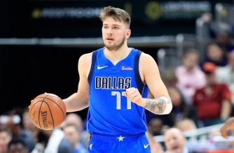 INDIANAPOLIS, IN - JANUARY 19: Luka Doncic #77 of the Dallas Mavericks dribbles the ball against the Indiana Pacers at Bankers Life Fieldhouse on January 19, 2019 in Indianapolis, Indiana. NOTE TO USER: User expressly acknowledges and agrees that, by downloading and or using this photograph, User is consenting to the terms and conditions of the Getty Images License Agreement.   Andy Lyons/Getty Images/AFP