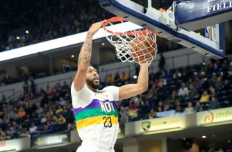 Anthony Davis will go to the Los Angeles Lakers in a blockbuster trade, reports have said. Getty Images North America/Andy Lyons/AFP/