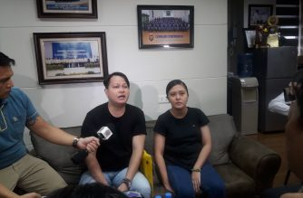 Edwin Roberto and Liezel Aileen De Leon, the alleged whistleblowers of the ghost dialysis scam at WellMed, also surfaced at the NBI on Monday, June 10, to ask the bureau for help in their application for government protection./Moira Encina/Eagle News/
