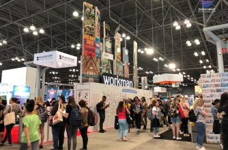 View from the floor of BookCon 2019. Photo by Joanne Soriano, EBC New York Bureau, Eagle News Service.