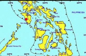 3.4-magnitude quake hits Occidental Mindoro