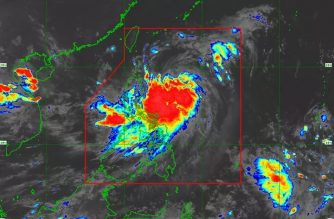 """Tropical Storm """"Ineng"""" intensifies into severe tropical storm"""