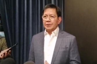 """Senator Panfilo Lacson has filed a bill that proposes to extend the line of succession in the Constitution, and proposes the designation of a """"survivor"""" in events attended by all those in the existing and proposed line of succession./Meanne Corvera/Eagle News/"""