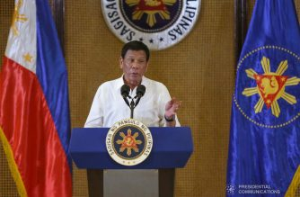 President Rodrigo Roa Duterte holds a press conference at the Malacañan Palace on September 4, 2019. SIMEON CELI JR./PRESIDENTIAL PHOTO