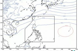 Moderate to heavy rainshowers expected in Zamboanga Sibugay, other areas