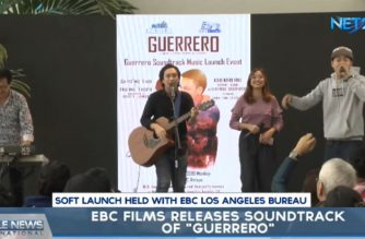 "Release of ""Guerrero"" Original Motion Picture Soundtrack, another milestone for E25 Records"