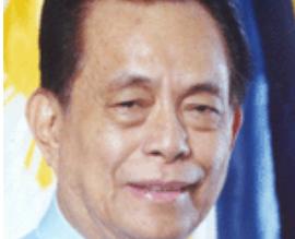 "Former Senate President Nene Pimentel is ""very ill,"" his family said on Monday, Oct. 14. /Senate website/"