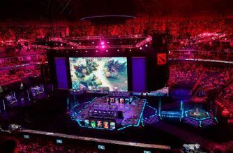 (File photo) A screen shows a live image of the Dota 2 eSports Best of 5 final match between team OG and team Liquid during the International Dota 2 Championships in Shanghai on August 25, 2019. (Photo by STR / AFP) / China OUT
