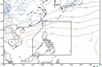 Rainfall advisory hoisted over parts of Pangasinan
