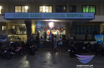 Some of the victims in what authorities said was an ambush by members of the New People's Army in Eastern Samar on Friday, Dec. 13, were rushed to a nearby hospital./Eagle News Service/