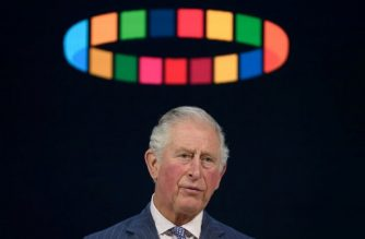 Britain's Prince Charles, Prince of Wales, delivers a speech at the World Economic Forum during the World Economic Forum (WEF) annual meeting in Davos, on January 22, 2020. (Photo by Fabrice COFFRINI / AFP)