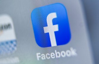 "(FILES) In this file photo taken on August 28, 2019 shows the logo of US online social media and social networking service, Facebook displayed on a tablet in Lille. - Political ad spending is surging for the US election, with digital campaigns -- led by Facebook -- accounting for nearly one-fifth of the total, researchers said on February 12, 2020. A report by eMarketer predicted total campaign media spending jumping 63 percent from four years ago to $6.89 billion, attributing the rise to the ""intensity"" of the presidential race as well as many congressional contests. (Photo by DENIS CHARLET / AFP)"