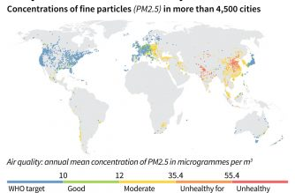 Micro-pollution ravaging China and South Asia: study