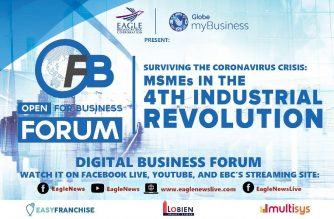 EBC to hold OPEN FOR BUSINESS Digital Public Forum on 4IR and how MSMEs can survive the Coronavirus Crisis