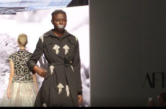 Strutting the ramp in 'masks' as coronavirus meets fashion week