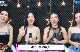 """""""4th Impact"""" performs at NET25's """"Letters and Music"""" via online, performing their songs from home.  (Screenshot of NET 25 Youtube)"""