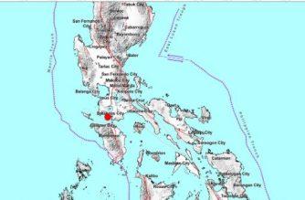 4.5-magnitude quake jolts Batangas