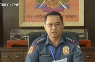 Philippine National Police chief General Archie Gamboa