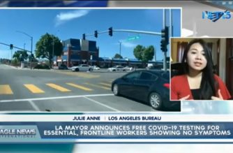 LA mayor announces free COVID-19 testing for essential, frontline workers showing no symptoms