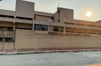 File photo of ABS CBN facade after it stopped broadcast operations on May 6, 2020.  Photo taken on May 7, 2020. (Photo courtesy Earlo Bringas/Eagle News Service)