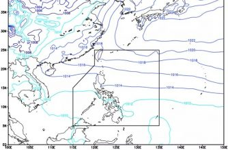 PAGASA: Cloudy skies with rainshowers, isolated thunderstorms expected in Palawan due to ITCZ