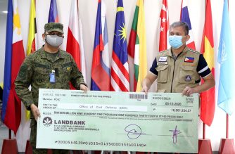 AFP members donate over P16 million to help fund gov't response vs COVID-19