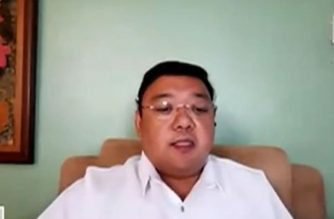 Presidential Spokesperson Harry Roque gives the latest announcements on the quarantine protocols that take effect today, May 16, until May 31, 2020, (Screengrab from PCOO video/Courtesy PCOO/RTVM)