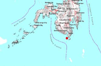 4.5-magnitude quake hits Sarangani
