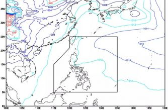 ITCZ affects Mindanao