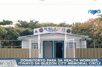 6 dormitories for QC health care workers to be completed by end of June