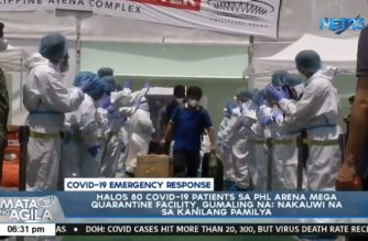 Biggest batch of COVID-19 recoveries given inspiring send-off at PHL Arena quarantine facility