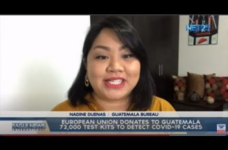 European Union donates to Guatemala 72,000 test kits to detect COVID-19 cases
