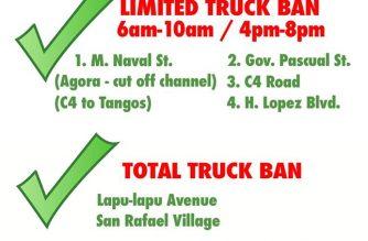 Navotas gov't announces truck ban policies